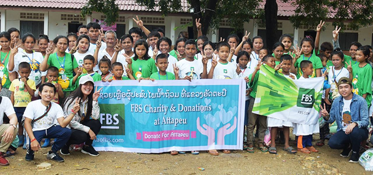 FBS helps citizens of Laos by sending humanitarian aid